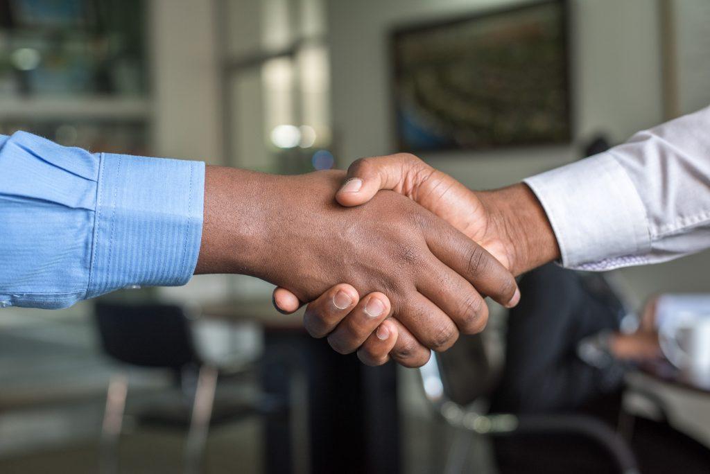 Partnership Business Handshake